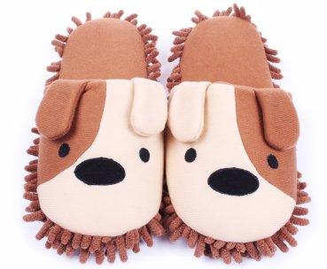 Plush Mop Slippers